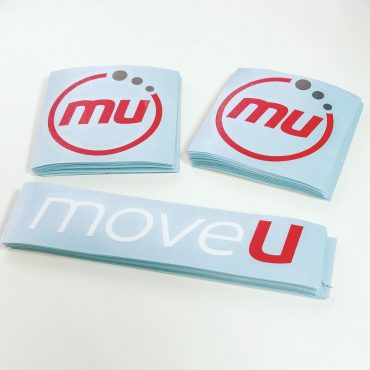 MoveU Vinyl Decal Stickers