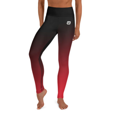 Red Gradient Leggings