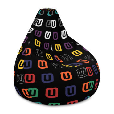 MUis Vuitton - All-Over Print Bean Bag Chair w/ filling