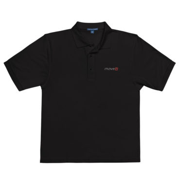 MoveU - UNISEX Embroidered Polo Shirt