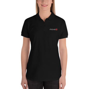 MoveU - Embroidered Women's Polo Shirt