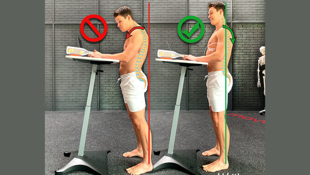 Improve Your Posture by Standing Correctly